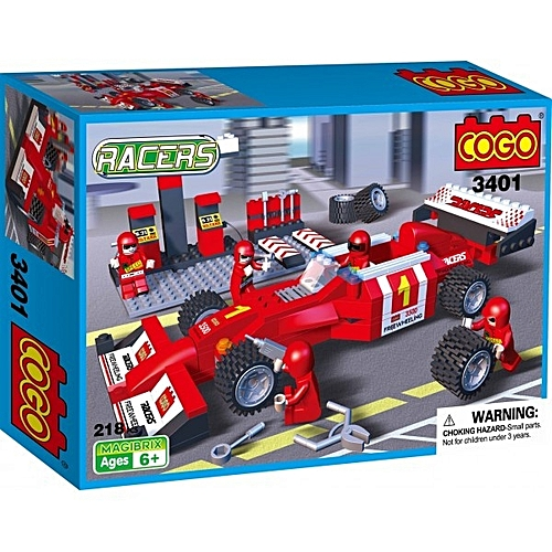 lego racer formule 1 218pcs 6 jouets enfant pas cher sur jumia tunisie. Black Bedroom Furniture Sets. Home Design Ideas