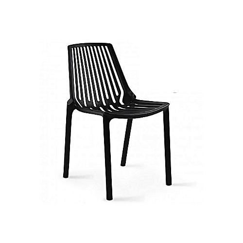 Chaise Plastique Noir