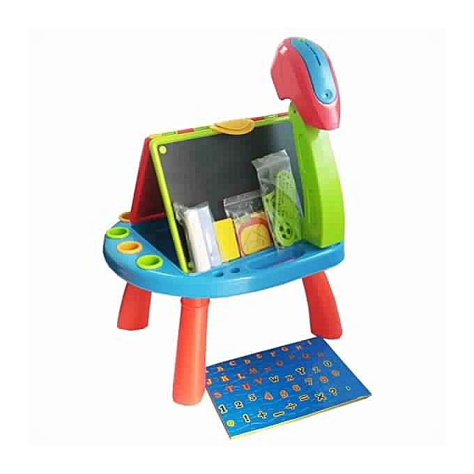 bureau avec projecteur et kit ducatifs jouets enfant pas cher sur jumia tunisie. Black Bedroom Furniture Sets. Home Design Ideas