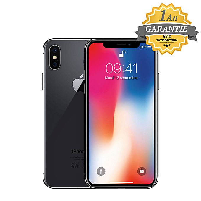 apple iphone x 64 go 3go ram space gray garantie 1 an acheter en ligne jumia tunisie. Black Bedroom Furniture Sets. Home Design Ideas