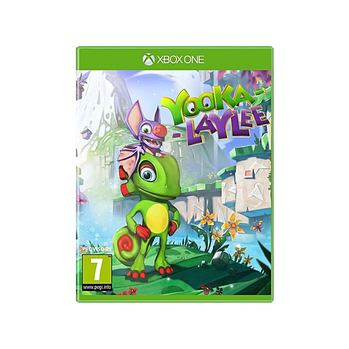 jeux video yooka laylee xbox one gaming pas cher sur jumia tunisie. Black Bedroom Furniture Sets. Home Design Ideas