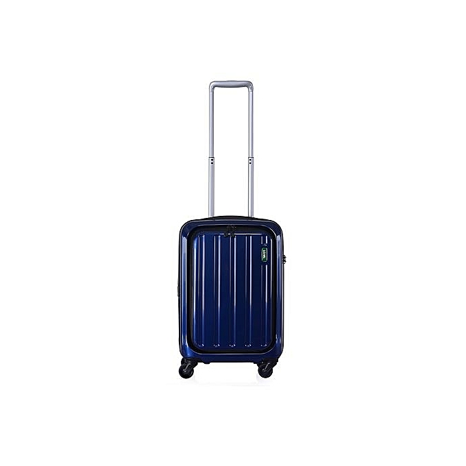 valise lucid cf1233 navy blue s valises pas cher sur jumia tunisie. Black Bedroom Furniture Sets. Home Design Ideas
