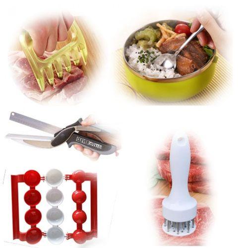 pack de cuisine clever cutter boulettes farcies presse attendrisseur de viande boite. Black Bedroom Furniture Sets. Home Design Ideas