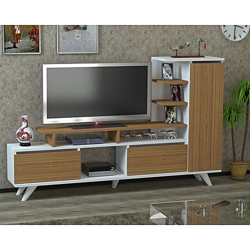 meuble tv mdf stratifi meubles tv pas cher sur jumia tunisie. Black Bedroom Furniture Sets. Home Design Ideas
