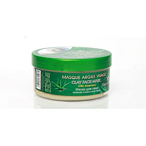 masque argile visage a l 39 aloe vera 300gr soins du visage pas cher sur jumia tunisie. Black Bedroom Furniture Sets. Home Design Ideas