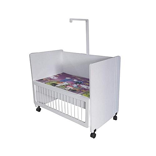 white label lit nouveau n roulant avec matelas fa ade. Black Bedroom Furniture Sets. Home Design Ideas