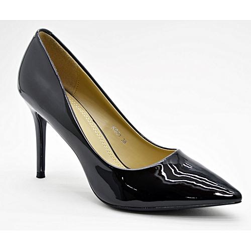 chaussure femme 64800 noir et gris escarpins stilettos pas cher sur jumia tunisie. Black Bedroom Furniture Sets. Home Design Ideas