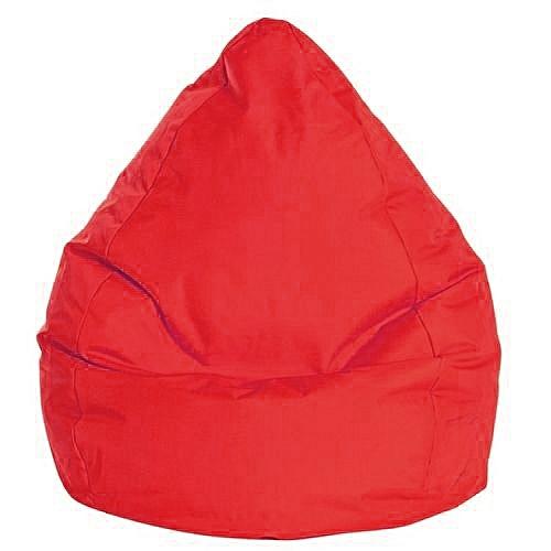 white label pouf poire xxl brava rouge 90 120cm prix pas cher jumia tunisie. Black Bedroom Furniture Sets. Home Design Ideas