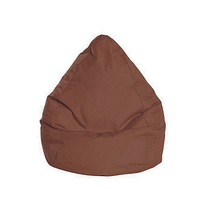 white label pouf poire xxl brava marron 90 120cm prix pas cher jumia tunisie. Black Bedroom Furniture Sets. Home Design Ideas