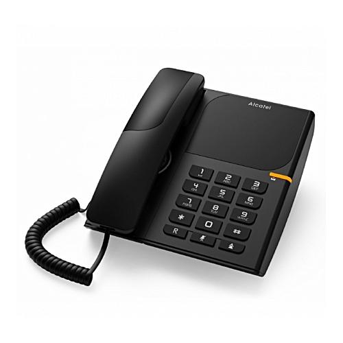 alcatel t l phone fixe filaire t28 noir garantie 1 an pas cher jumia tunisie. Black Bedroom Furniture Sets. Home Design Ideas