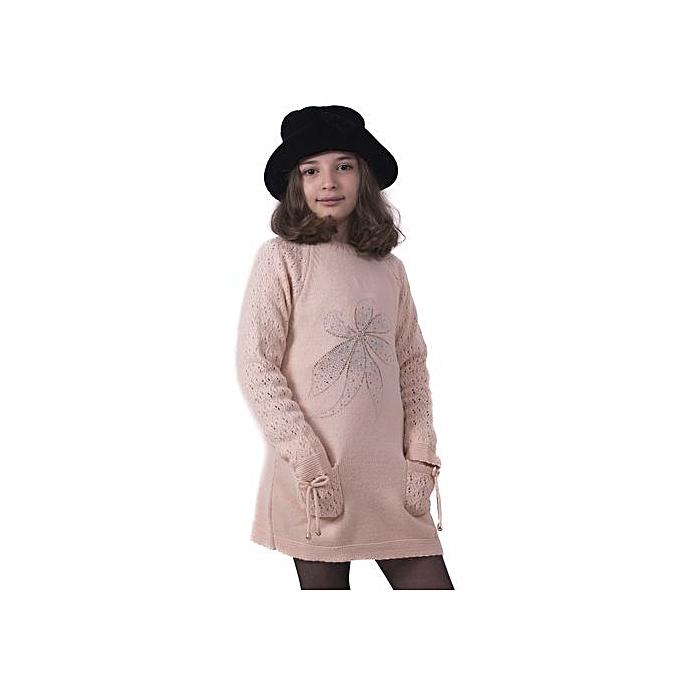 56bb367aa5c White Label Robe - En Maille à Strass - Incarnat à prix pas cher ...