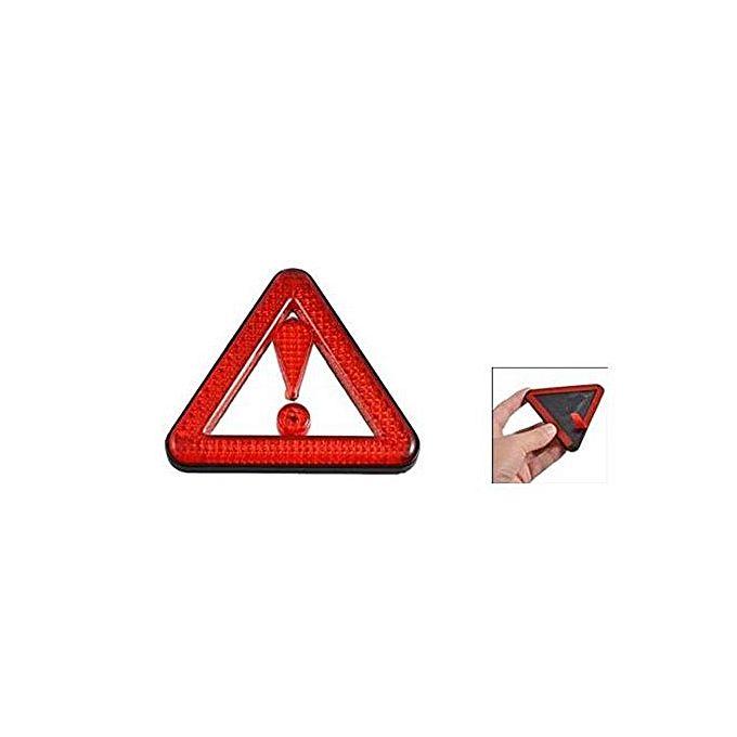 triangle de signalisation autocollant accessoires de voitures pas cher sur jumia tunisie. Black Bedroom Furniture Sets. Home Design Ideas