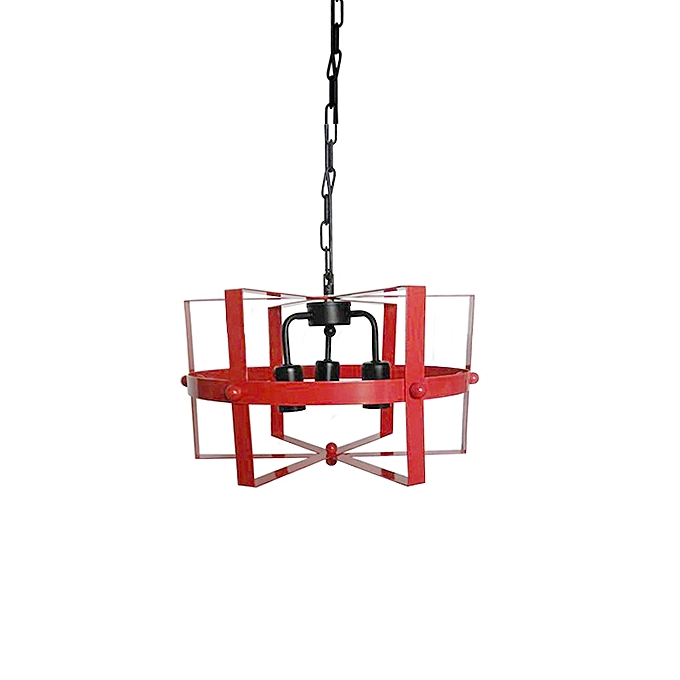 suspension moderne m tallique rouge pendant pas cher sur jumia tunisie. Black Bedroom Furniture Sets. Home Design Ideas