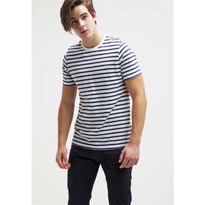 Ray pour homme noir et blanc acheter en ligne jumia tunisie - Tapisserie rayee noir et blanc ...