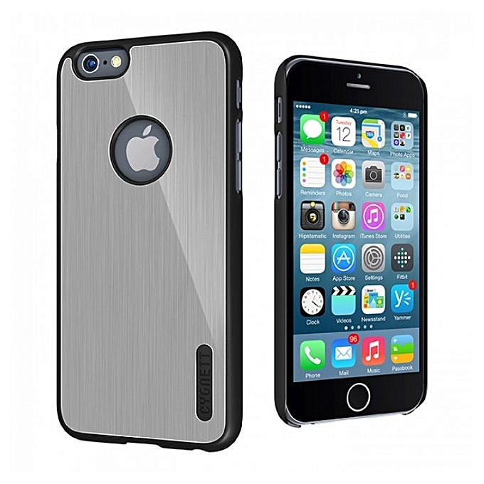 Cygnett protective etui iphone 6 silver aluminium for Housse iphone 6 plus