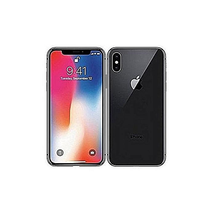 apple iphone x 256 go 3go ram space gray garantie 1 an pas cher jumia tunisie. Black Bedroom Furniture Sets. Home Design Ideas