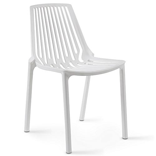 Chaise Plastique Blanc