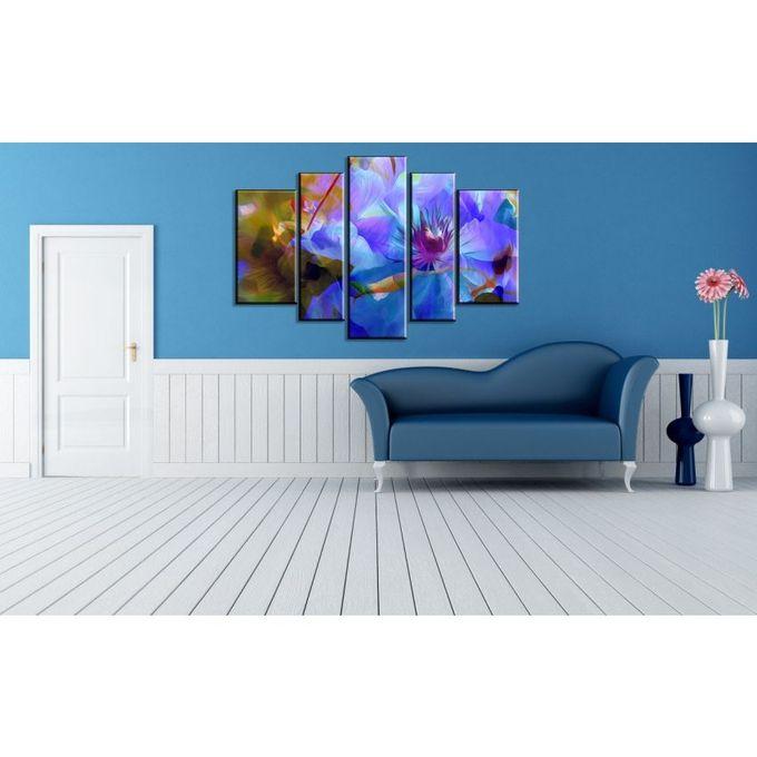 artistiqua tableau en 5 parties sur bois mdf acheter en ligne jumia tunisie. Black Bedroom Furniture Sets. Home Design Ideas