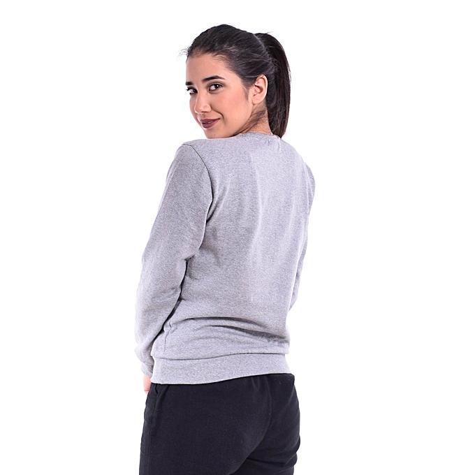 Jumia Gris Label Shirt White À Pas Femme Sweat Prix Tunisie Cher Wgzg1Tn