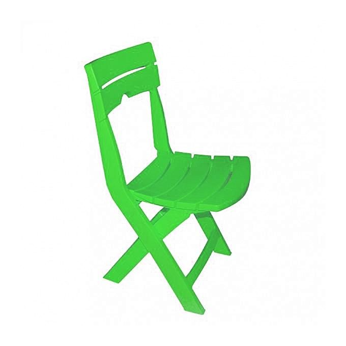 chaise pliable ruspina vert pistache accessoires de. Black Bedroom Furniture Sets. Home Design Ideas