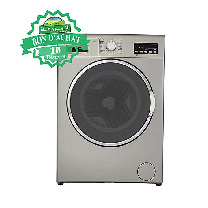 machine laver 7kg gris lectrom nager pas cher sur. Black Bedroom Furniture Sets. Home Design Ideas