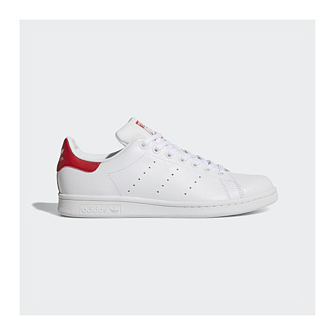 taille 40 28f65 65185 Stan Smith - Blanc Rouge