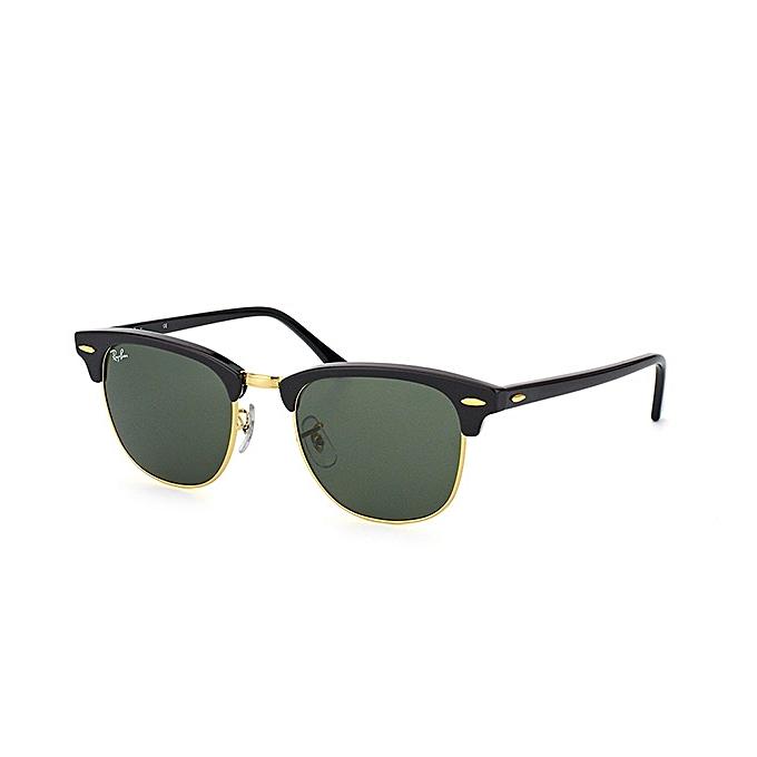 RAY BAN Lunette soleil - RB 3016 CLUB MASTER - Noir à prix pas cher ... 31313e70b663