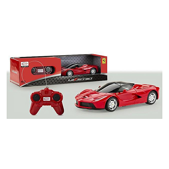 white label voiture ferrari rc la ferrari 1 24 prix pas cher en tunisie promotion jumia. Black Bedroom Furniture Sets. Home Design Ideas