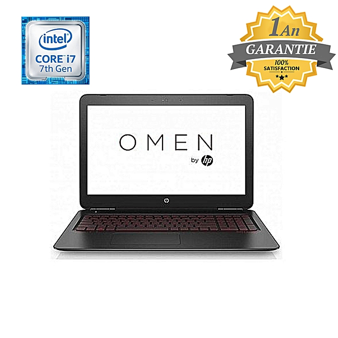 pc portable hp omen 15 ax209nk i7 7 g n 16 go pc portable gamer pas cher sur jumia tunisie. Black Bedroom Furniture Sets. Home Design Ideas
