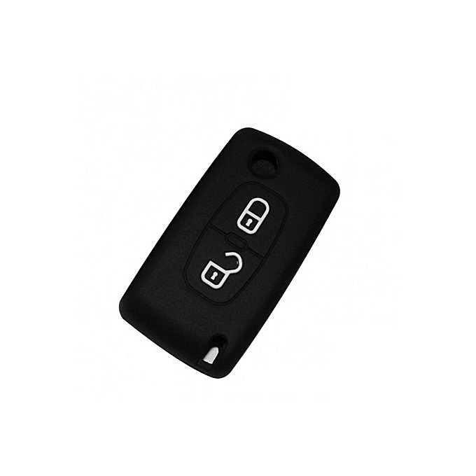 Coque silicone de cl volkswagen 2 bouttons for Housse protection voiture