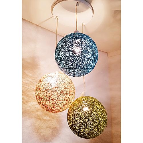 white label suspension 3 boules bleu beige vert prix pas cher jumia tunisie. Black Bedroom Furniture Sets. Home Design Ideas