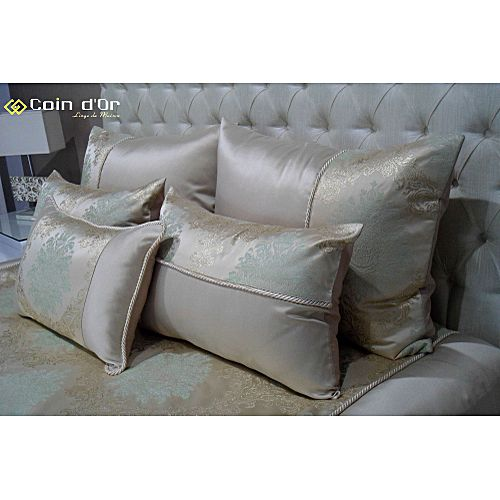 couvre lit atlantic vert baroque parures de lit pas cher sur jumia tunisie. Black Bedroom Furniture Sets. Home Design Ideas