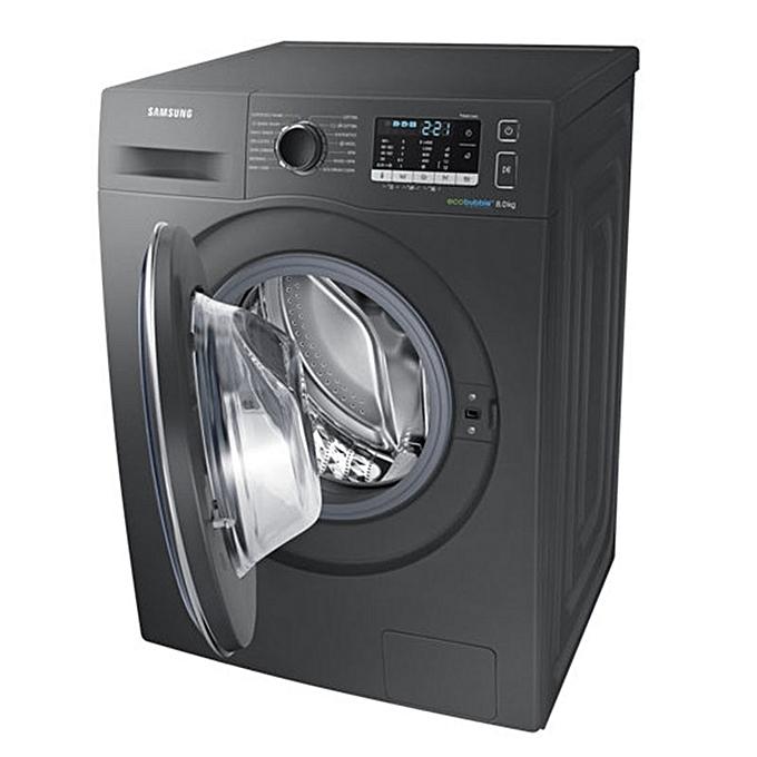 samsung machine laver automatique 8kg inox ww80j5555fx garantie 2 ans pas cher jumia tunisie. Black Bedroom Furniture Sets. Home Design Ideas