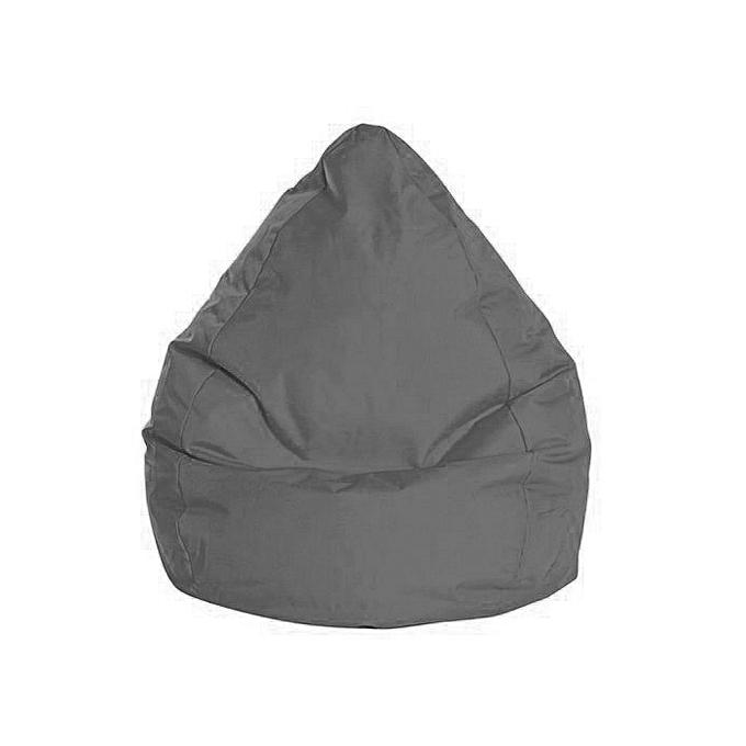 white label pouf poire xxl brava gris 90 120cm prix pas cher jumia tunisie. Black Bedroom Furniture Sets. Home Design Ideas