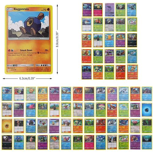 Sans Marque Jeu Carte Pokemon 70pcs A Prix Pas Cher Jumia Tunisie