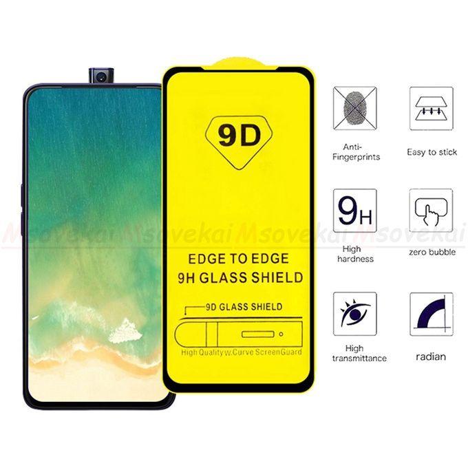 White Label Glass 9d Pour Huawei Y9 Prime 2019 Noir A Prix Pas