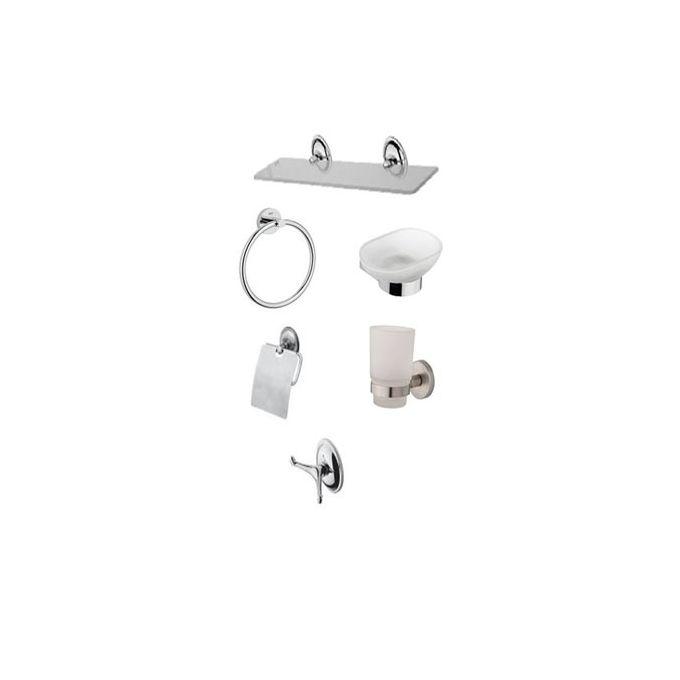 Accessoire salle de bain - Séries de 6 pièces solo