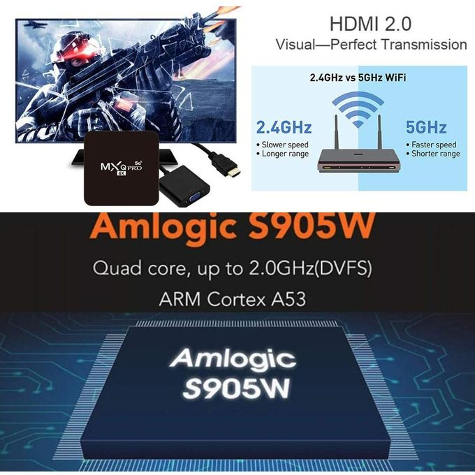 product_image_name-Mxq-TV Box 4K 5G Ultra HD - Version améliorée 2020 Android 9.0-6