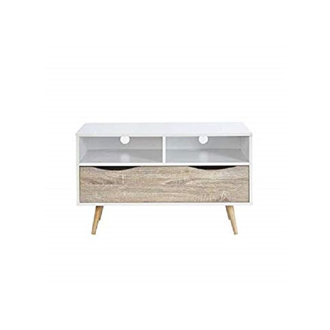 Meuble Tv Style Design Scandinave Blanc