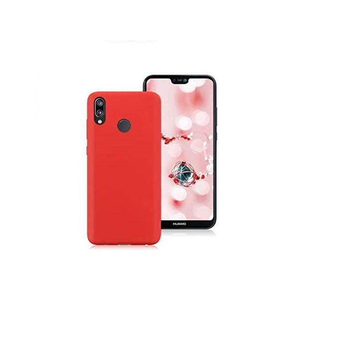Coque en silicone pour Huawei P20 lite - Rouge