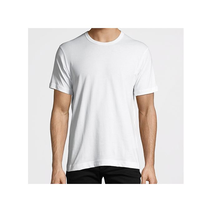 Fruit Of The Loom T-Shirt Blanc -100 % Coton