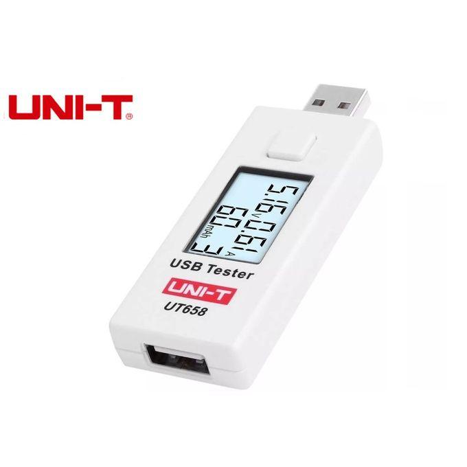 /Écran LCD UNI-T UT658/- USB Testeur de tension de capacit/é et de courant num/érique