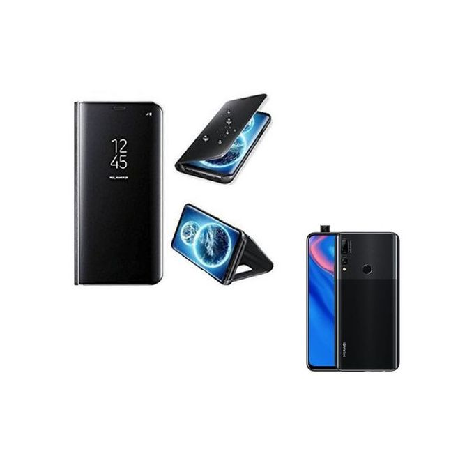 White Label Mirror Flip Cover S View Huawei Y9 Prime 2019