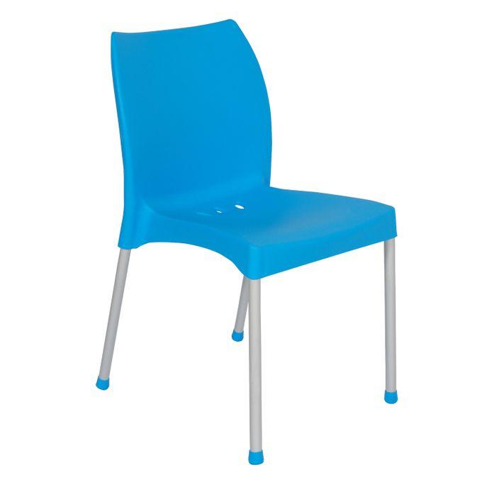 Chaise Plastique Diana Bleu