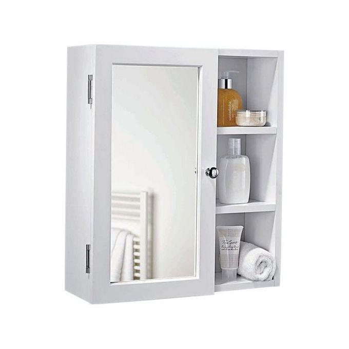 Meuble salle de bain 65x60 - Blanc