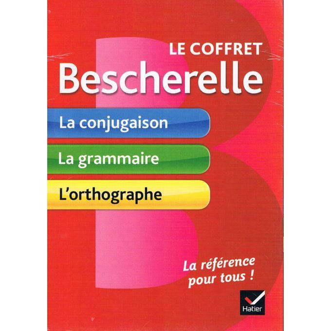 Le coffret bescherelle : la conjugaison & la grammaire & l\'orthographe