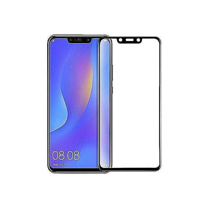 White Label Glass 5d Pour Huawei Nova 3i Couverture Complete