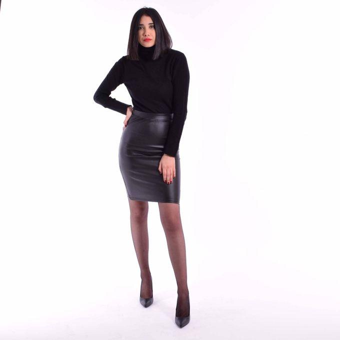 Dream Fashion Jupe Simili Cuir Noir A Prix Pas Cher Jumia Tunisie