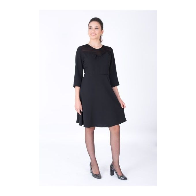 Ms Marion Robe Cintree Noire A Prix Pas Cher Jumia Tunisie