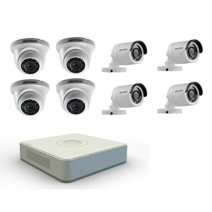 Hikvision Kit Des 8 Cameras De Surveillance 2 Mega Pixel